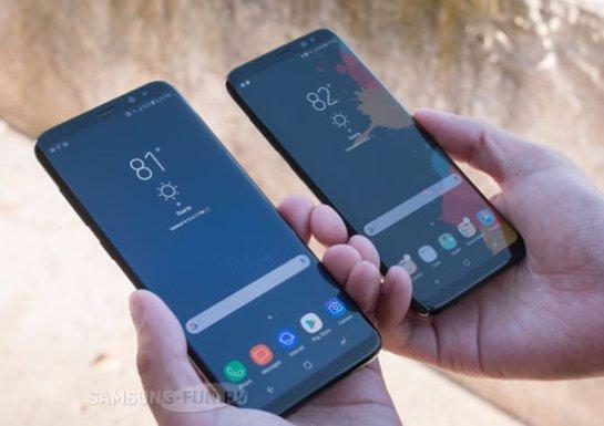 Samsung поставила на рынок 20 млн экземпляров Galaxy S8