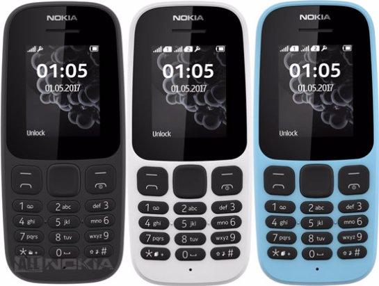Nokia 105 - еще одна новинка-звонилка