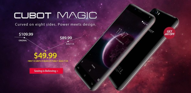3 акции на Gearbest: CUBOT Magic 4G - $49.99, UHANS Note 4 - $59.99, Vkworld Mix Plus - $99.99