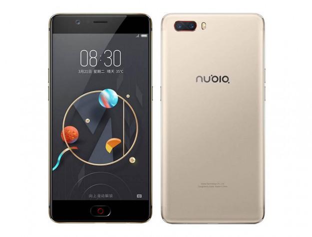 Смартфон ZTE Nubia M2 уже появился на прилавках онлайн магазинов