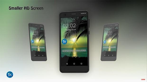 Ориентировочные характеристики бюджетного смартфона Nokia 2 на Android 7.0