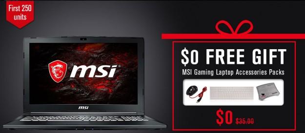 Товар дня: Мощный игровой ноутбук MSI GL62M 7REX - 1252CN Gaming Laptop от 9.99