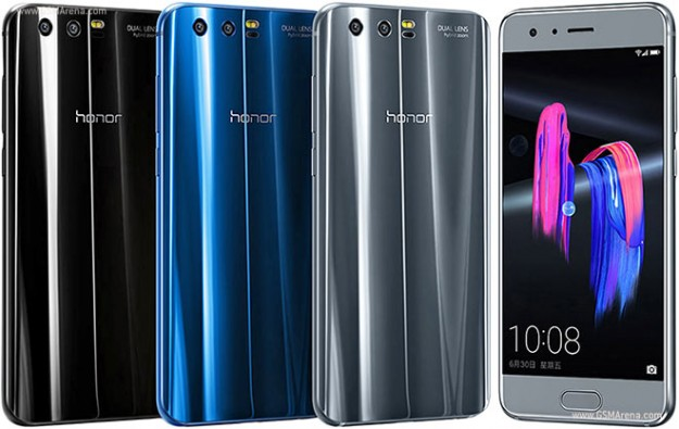 Начались продажи яркого Huawei Honor 9 в новых вариантах корпуса