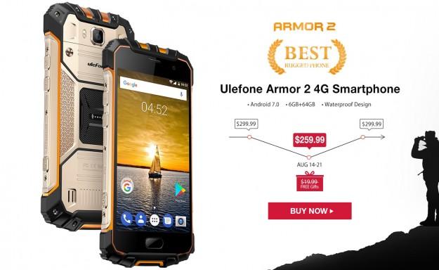 Товар дня: Leagoo T5 от .99, Ulefone Armor 2 от 9.99