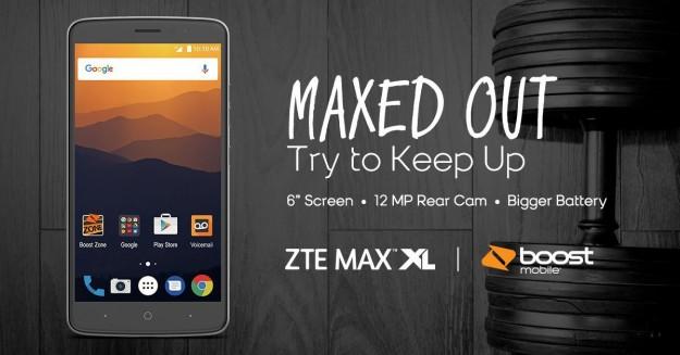 ZTE Max XL - смартфон на 6 дюймов при ценнике в районе 0