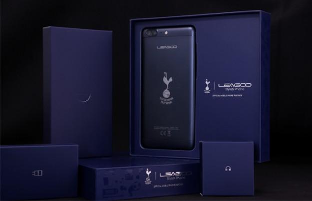 Производитель смартфонов LEAGOO стал официальным партнером футбольного клуба «Тоттенхэм Хотспур» с 2017 по 2022 год