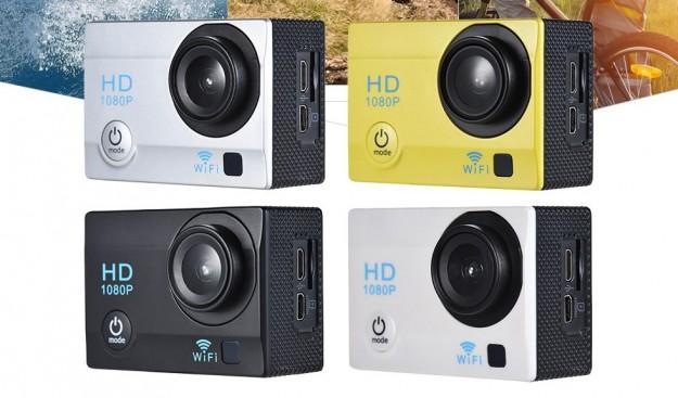 Товар дня: Экшн-камера с 2.0-дюймовым LCD дисплеем и матрицей на 12 Мпикс. 1080P и Wi-Fi за .99
