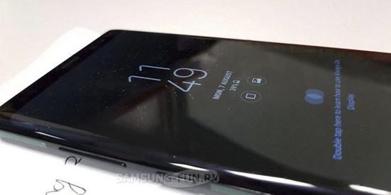 В Samsung Galaxy Note 8 может быть установлен чувствительный к силе нажатия дисплей