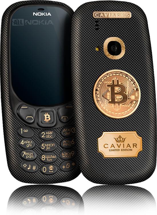 Очередные дорогие Nokia 3310 от Caviar посвящены валютам