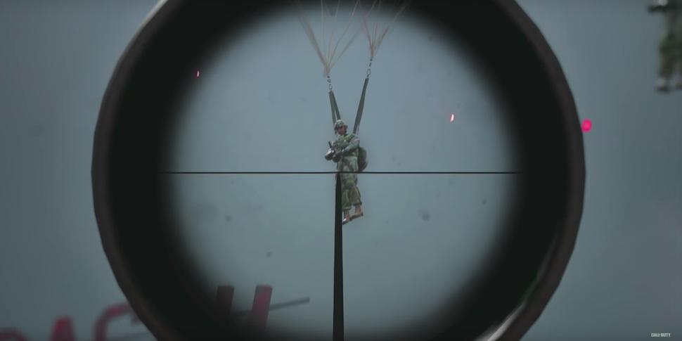 Вышел трейлер к запуску беты Call of Duty: WWII