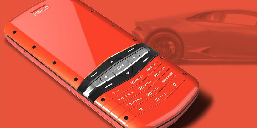 Дизайнер показал телефон в стиле Lamborghini