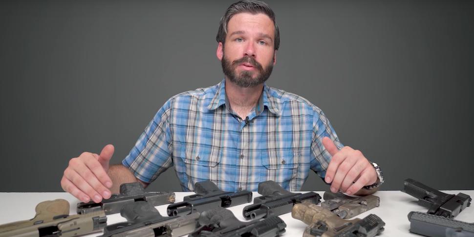 P320 оказался единственным пистолетом из 11, который выстрелил при падении