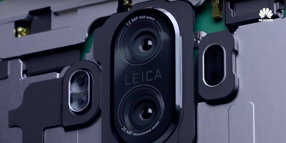 Huawei показала достоинства камеры Mate 10 в новом тизере