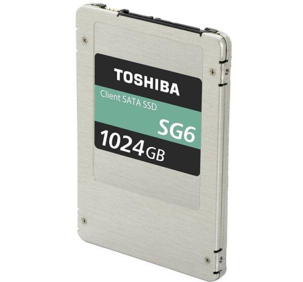 Toshiba показала новые твердотельные накопители SG6