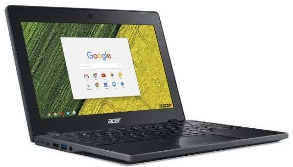 Хромбук Acer Chromebook 11 C771 защищен от внешних факторов