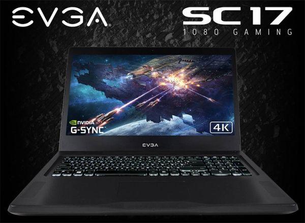 Игровой ноутбук EVGA SC17 1080 стоит $3000