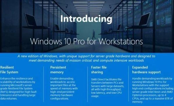 Microsoft выпустит Windows 10 в версии для мощных компьютеров