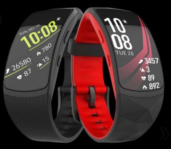 Samsung подготовила умный браслет Gear Fit2 Pro