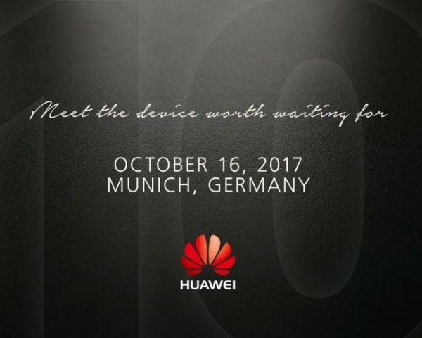Смартфон Huawei Mate 10 покажут ровно через два месяца