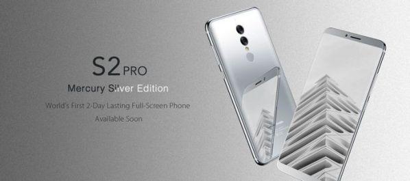 В смартфон Umidigi S2 Pro встроили много RAM и безрамочный экран