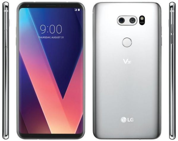 Смартфон LG V30 предстал на официальных рендерах