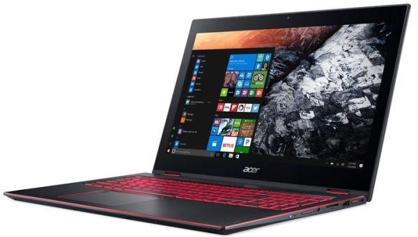 Acer анонсировала игровой ноутбук Nitro 5 Spin с поворотным экраном