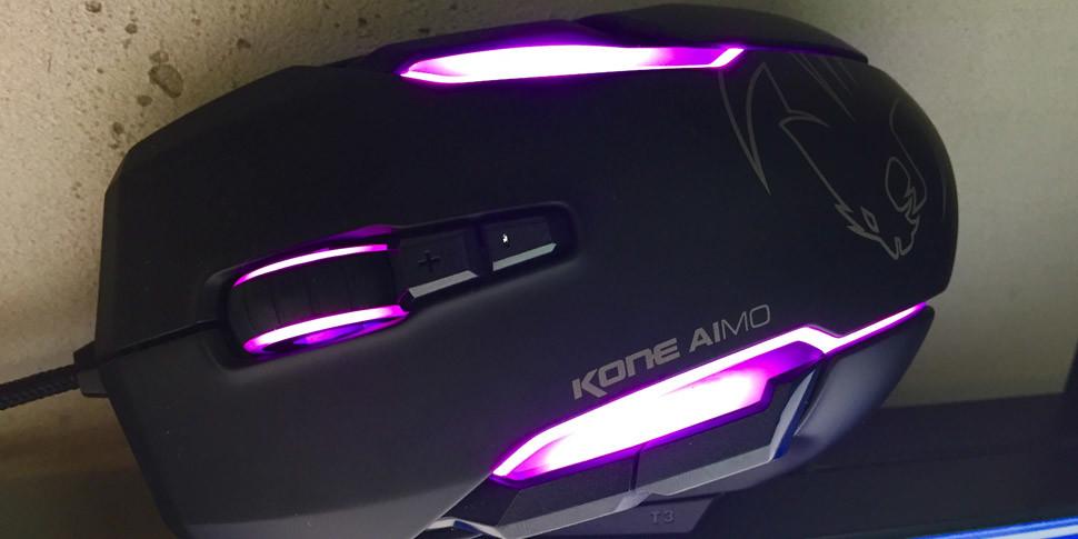Roccat покажет первую в мире игровую мышку с искусственным интеллектом
