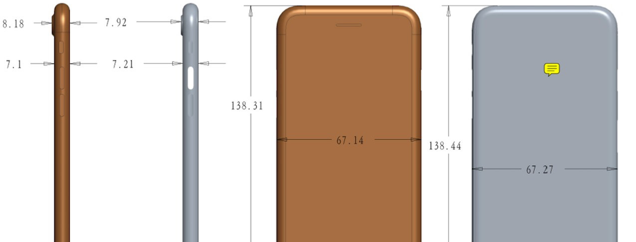 iPhone 7S станет слегка больше и получит стеклянный корпус