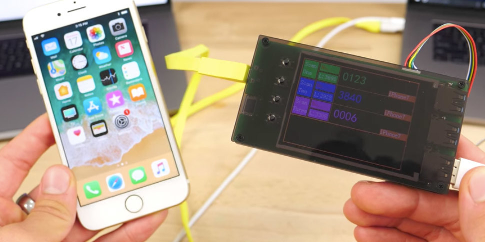Китайцы выпустили гаджет, автоматически взламывающий iPhone