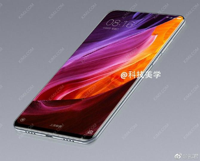 Новые подробности про Xiaomi Mi Mix 2