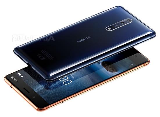 Nokia 8 не будет доступен в Китае и США