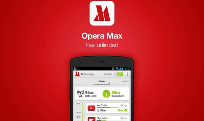 Приложение Opera Max будет удалено из Google Play
