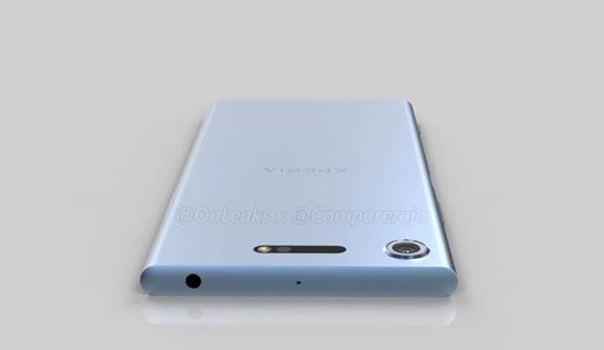 Sony Xperia XZ1 на официальных рендерах