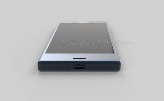 Sony Xperia XZ1 Compact на официальных рендерных снимках