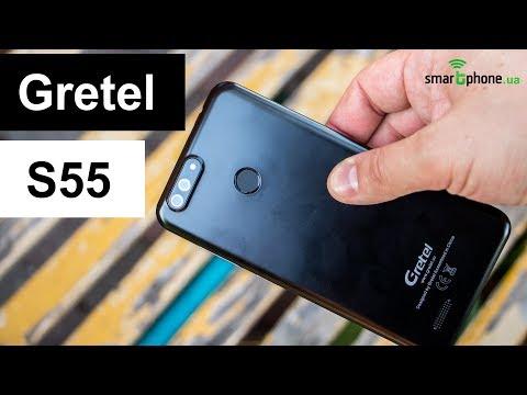 Видеообзор смартфона Gretel S55 от портала Smartphone.ua!