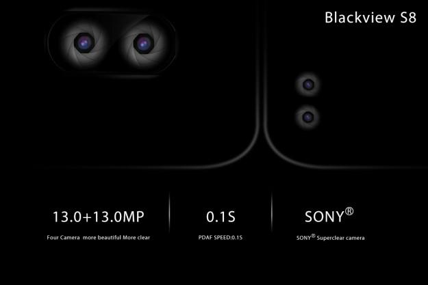 Blackview S8 – немного не такой как все безрамочный смартфон