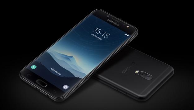 Samsung Galaxy C8 получит двойную камеру и сканер отпечатков пальцев