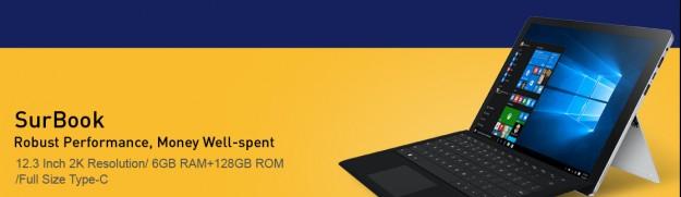 На Gearbest.com стартовала осенняя распродажа планшетов и ультрабуков CHUWI