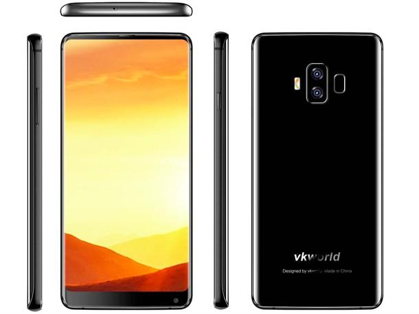 Первый взгляд на смартфон с самым большим в мире аккумулятором и безрамочным дисплеем 18:9