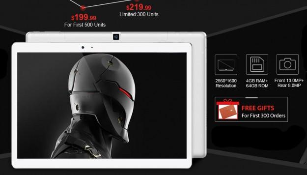 Товар дня: Teclast Master T10 — $199.99, Cube thinker – от $569.99 и Xiaomi Notebook Air – $819.99