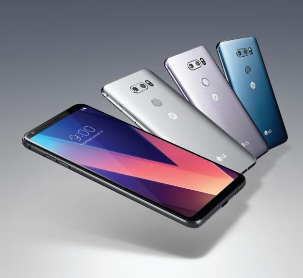 На этой неделе LG запускает продажи смартфона LG V30