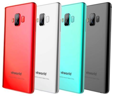 Скоро выйдет Vkworld S8 с 5500 мАч, дисплеем 18:9 и рамкой толщиной 1 мм, быстрой зарядкой 24 Вт