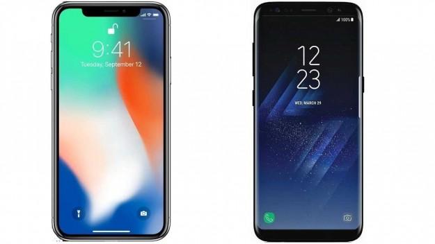 SMARTlife: Сравнение Iphone X vs Samsung Galaxy S8