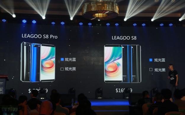 LEAGOO S8 Pro и S8 Другой с экранами 18: 9 официально показали в Шэньчжэне