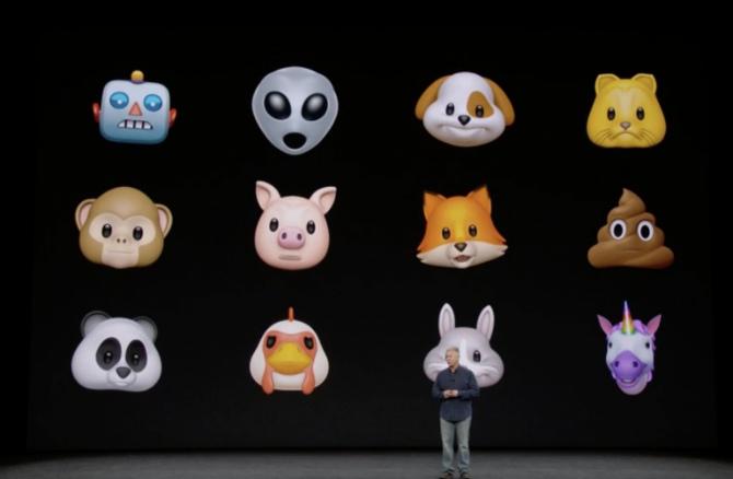 Apple показала Animoji: как Emoji, только лучше