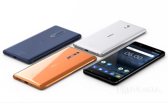 Nokia 8 с 6GB RAM и 128GB ROM памяти появится в Европе в октябре