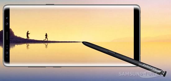 Фаблет Samsung Galaxy Note 8 получает первое обновление