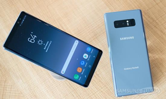В первый уик-энд Samsung удалось продать 270 тыс экземпляров Galaxy Note 8