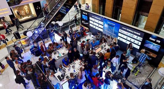 В Москве открывается  интерактивное пространство Samsung Galaxy Note8 Studio