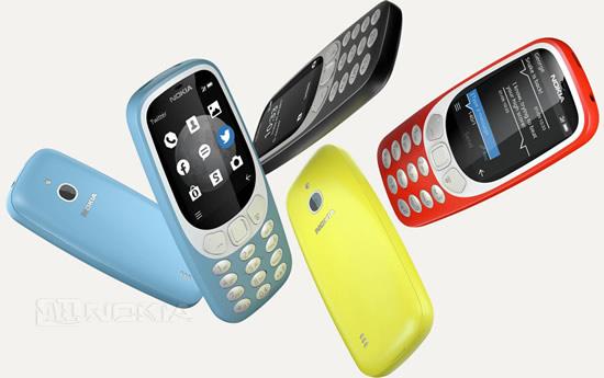 HMD представила 3G-версию Nokia 3310